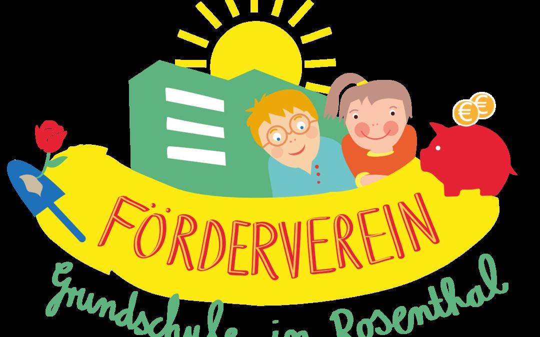 Neuer Name des Förderverein der Grundschule in Rosenthal – mit neuem Logo wieder am Start!